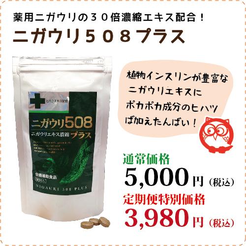 ニガウリ508プラス